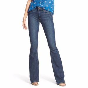 Paige Denim Transcend High Rise Flare Jeans